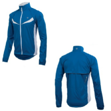 Veste coupe-vent convertible ELITE BARRIER bleu PEARL IZUMI